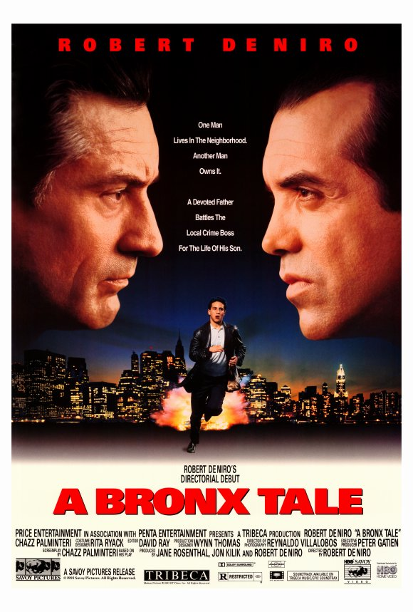 a bronx tale movie A bronx tale a bronx tale follows a young italian-american teenager named calogero in the bronx, new york as his path in life is guided by two father figures, his.