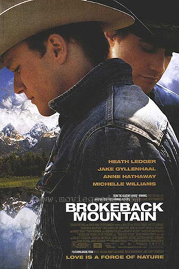 Movie Poster Acoustic Panel Brokeback Mountain