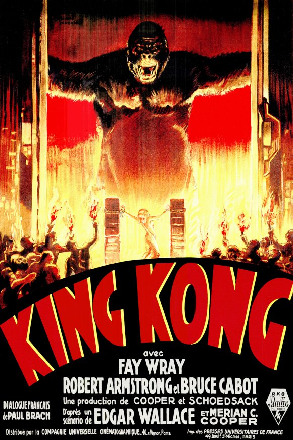 Movie Poster Acoustic Panel - King Kong