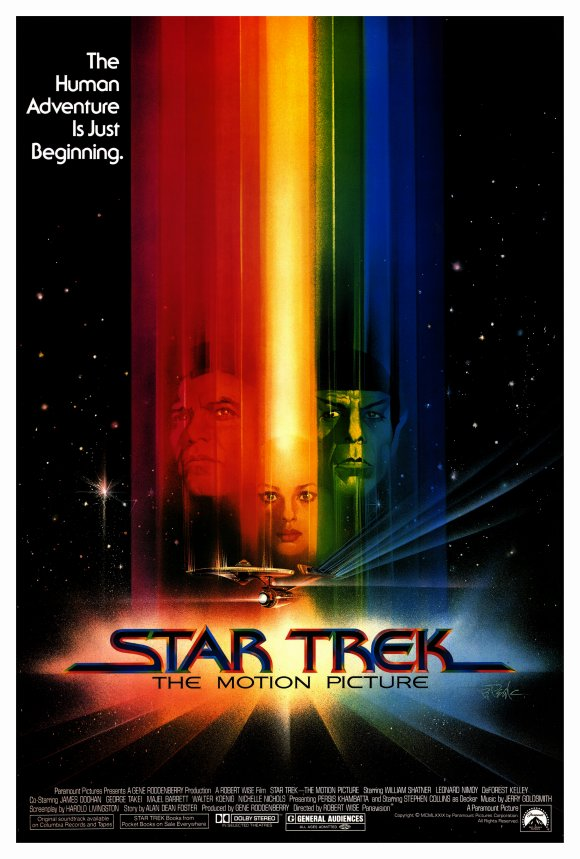 movie poster star trek the motion picture 1979. Black Bedroom Furniture Sets. Home Design Ideas