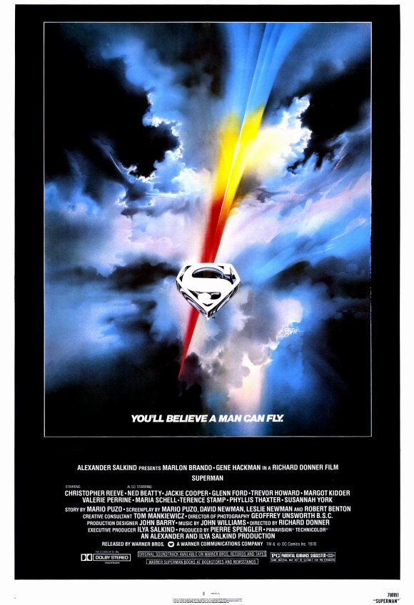 Movie Poster Acoustic Panel - Superman: The Movie