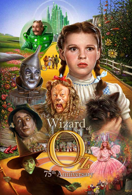 movie poster acoustic panel the wizard of oz