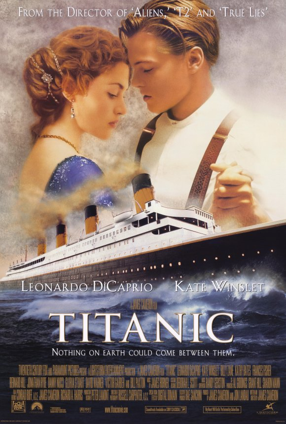 Movie Poster Acoustic Panel Titanic
