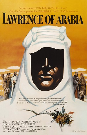 Lawrence of Arabia (1963) Movie Poster