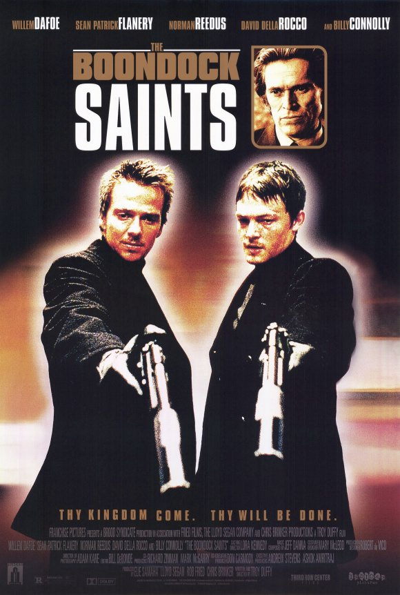Movie Poster Acoustic Panel Boondock Saints