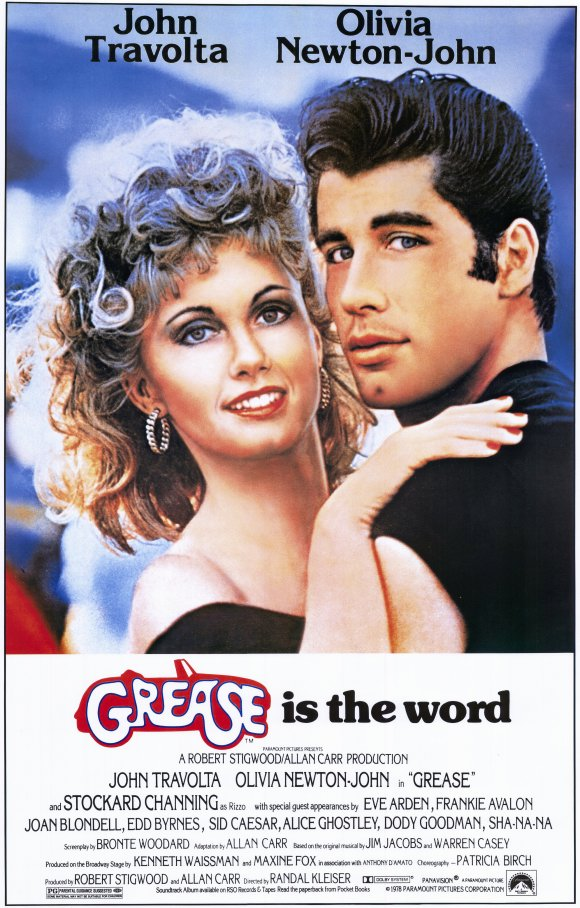 Movie Poster - Grease (1978)