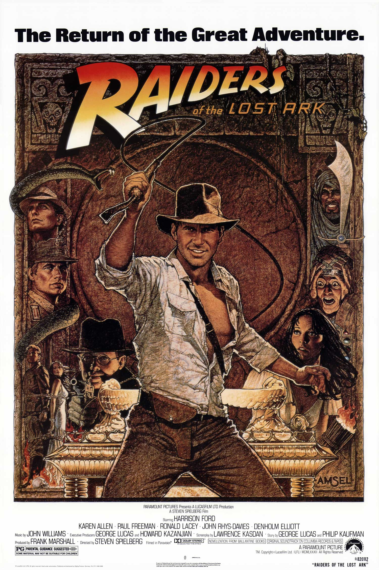 movie poster raiders of the lost ark 1981