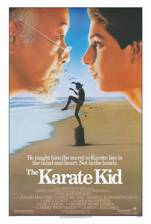 Movie Poster Acoustic Panel The Karate Kid