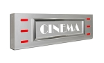 Contempo - Cinema Sign