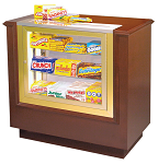 Concession Stand w/ Candy Case - Hardwood