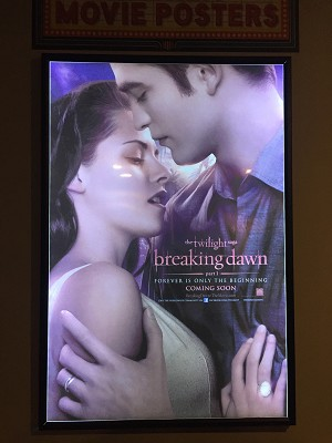 LED Back-lit Poster Frame