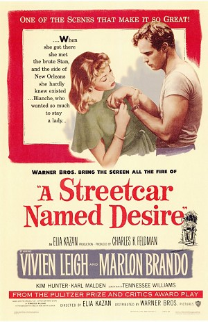 A Streetcar Named Desire - Movie Acoustic Panel