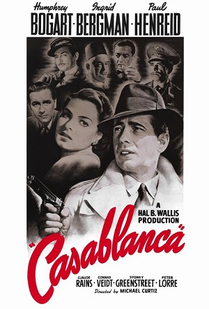 Casablanca (1942) Movie Poster