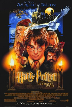 Harry Potter and the Sorcerer's Stone (2001) Movie Poster