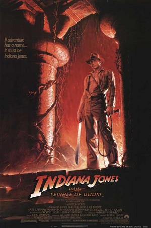 Indiana Jones and the Temple of Doom - Movie Acoustic Panel