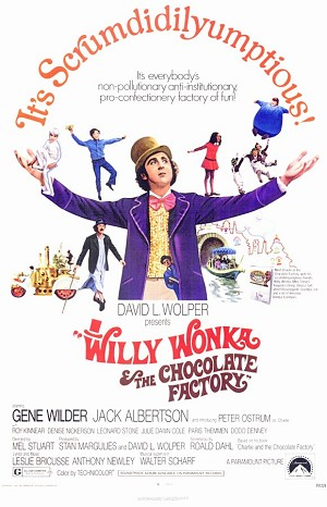 Willy Wonka and the Chocolate Factory - Movie Acoustic Panel