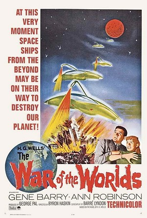 The War of the Worlds - Movie Acoustic Panel